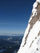 Rock Climbing Photo: Looking west from part way up Rime Dog.