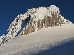 Rock Climbing Photo: Illumination Rock with March Madness (WI4-5 ice co...