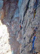 Rock Climbing Photo: Pitch 1 - This should help you find the start.