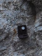 Rock Climbing Photo: Ancient Hardware