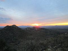 Rock Climbing Photo: Granite Mountain, Arizona