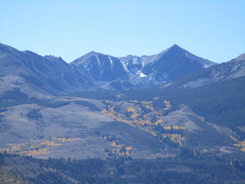 Rock Climbing Photo: Eastern Sierra.