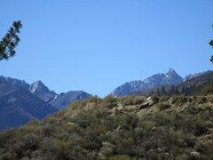 Rock Climbing Photo: Eastern Sierra