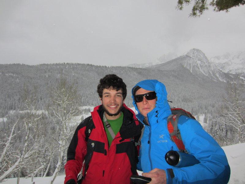 Rock Climbing Photo: Josh and James