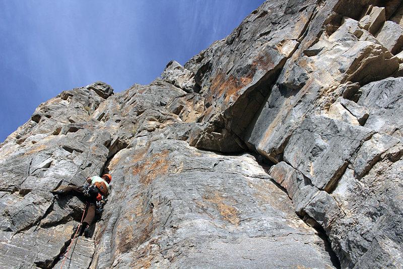 Leading pitch 1 through high quality limestone.