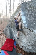 Rock Climbing Photo: Jay Shultis on 'Blue'