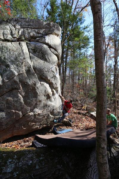Rock Climbing Photo: The Mystery Boulder