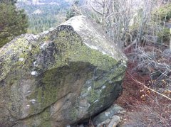 Rock Climbing Photo: Backside of Aspen Boulder