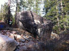Rock Climbing Photo: Coldstream River Boulder