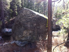 Rock Climbing Photo: Away from the river side of Coldstream Canyon Rive...