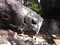 Rock Climbing Photo: Coldstream Canyon River Boulder