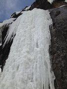 Rock Climbing Photo: Opening pitch Première longueur