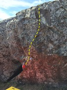 Rock Climbing Photo: Rock Scar