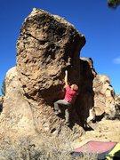 Rock Climbing Photo: Ryan being prepared.
