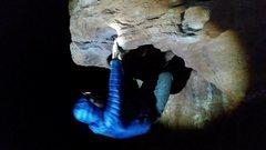 Rock Climbing Photo: Night life