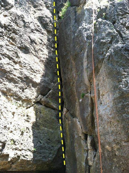 Middle Section of 3rd Crack