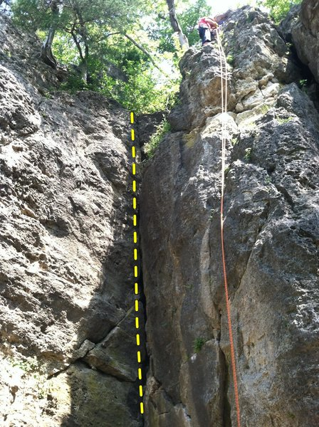 Top of 3rd Crack