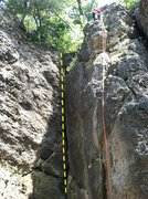 Rock Climbing Photo: Top of 3rd Crack