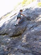 Rock Climbing Photo: START of Cody's Lament