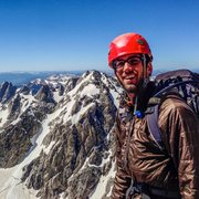 Rock Climbing Photo: On the way up the Grand Teton.