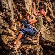 Rock Climbing Photo: Outside of Chattanooga, TN.  Snow Pocket Wildernes...