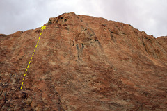 Rock Climbing Photo: The Cool Aid Gully.