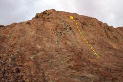 Rock Climbing Photo: Cool Aid Gully