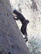 "Rock Climbing Photo: Enjoying a sunny winter day on ""Sophie's Choi..."