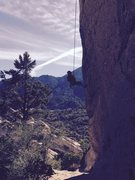 Rock Climbing Photo: Enjoying the day at the Attitude Wall.