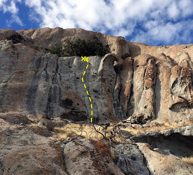 Rock Climbing Photo: Mars Rock