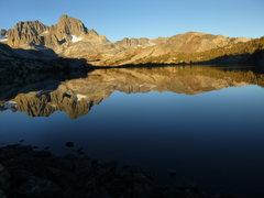 Rock Climbing Photo: Banner Peak from Garnet Lake