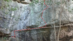 Rock Climbing Photo: picture of that rock above looks like it will crus...