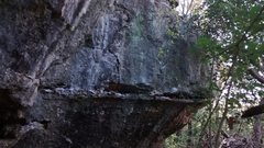 Rock Climbing Photo: photo of boulder route, That rock above looks like...