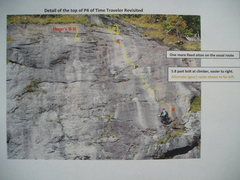 Rock Climbing Photo: Top of P4 area around Time-Space Continuum