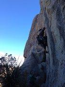 Rock Climbing Photo: The fun starts....... now!
