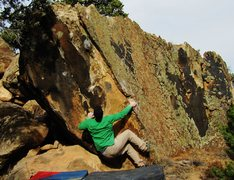 Rock Climbing Photo: Start beta to Circadian Cry.