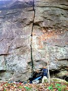 Rock Climbing Photo: Welcome to Clear Creek.  There was water running d...