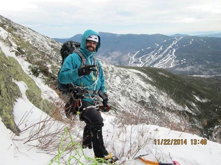 Rock Climbing Photo: Yale Gully