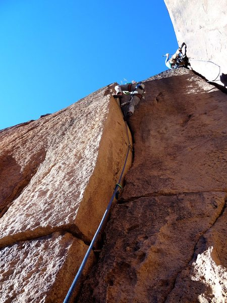 Rock Climbing Photo: Short but pretty sweet.