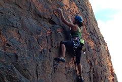Rock Climbing Photo: Hunter S Thompson wall @ Red Rocks