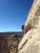 Rock Climbing Photo: ME ;) on the Headstone Wall