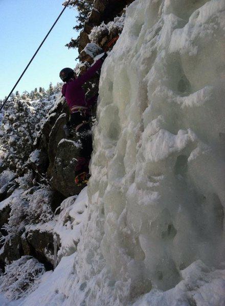 Rock Climbing Photo: Ice Climbing, Hiking 14er