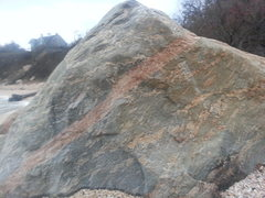 Rock Climbing Photo: A view of the small boulder closest to the stairs....