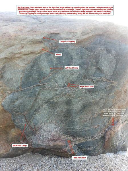 Rock Climbing Photo: Big Jump!