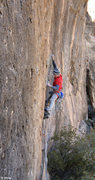 Rock Climbing Photo: Ed warms up on some cool thin face climbing on &qu...