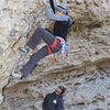 Ed and Mike at the start<br> Flying Cows (5.12b)