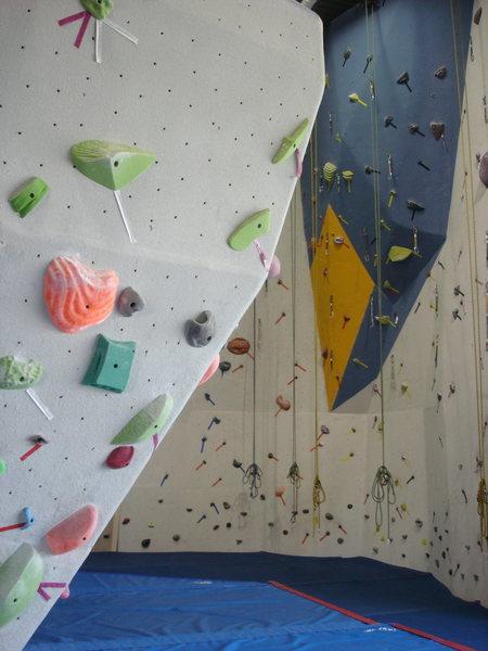 Fun and challenging climbing walls