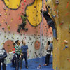 Excellent climbing walls for top rope and lead