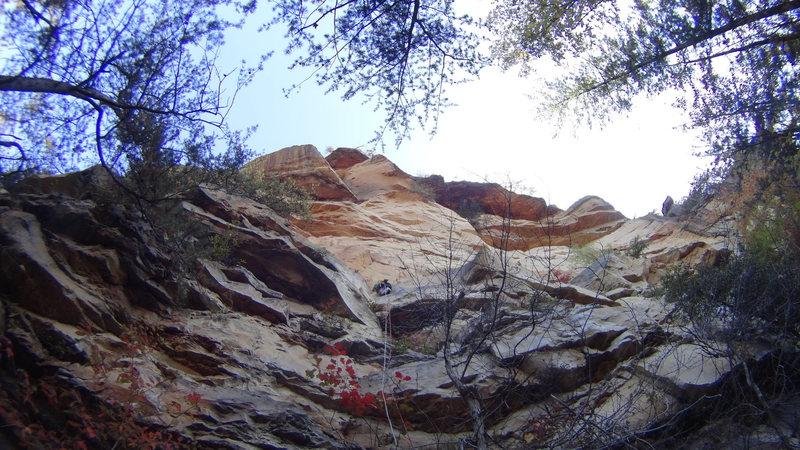 Rock Climbing Photo: P1 of Vertigo