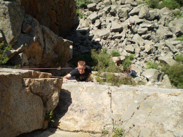 Rock Climbing Photo: FAist